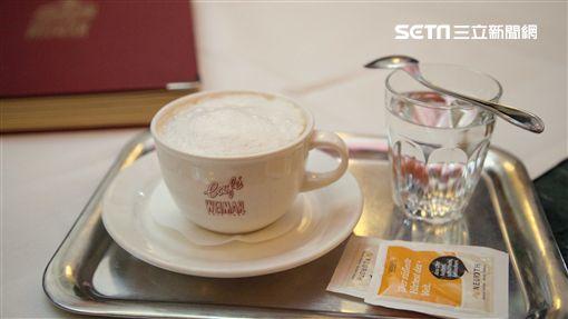 維也納咖啡廳。Cafe Weimar。(圖/記者簡佑庭攝)