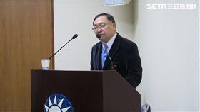 文化大學政治系講座教授陳一新。(記者盧素梅攝)