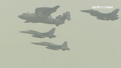 共軍繞台採紅線 國防部啟動聯翔操演