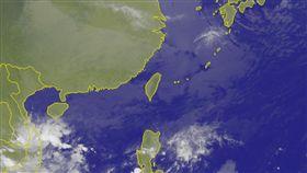 氣象衛星雲圖(圖/翻攝自中央氣象局官網)
