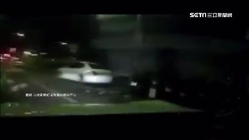 豐田86街頭競速 失控撞上Lexus