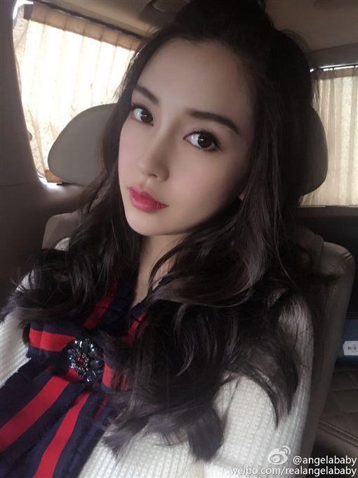 Angelababy,楊穎(圖/翻攝自微博)