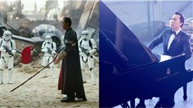 星際大戰,甄子丹,蕭敬騰,主題曲,俠盜一號,彈琴,鋼琴 圖/翻攝自甄子丹臉書