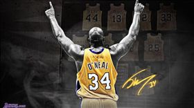 Shaquille O'Neal(圖/翻攝自WallpaperCave網站) http://wallpapercave.com/shaq-wallpapers