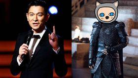 鹿晗、劉德華、電影《長城》/微博