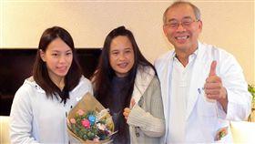 捐救護車 郭婞淳:回饋是最好的感恩 中央社