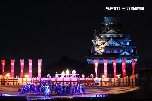 大阪城光雕秀