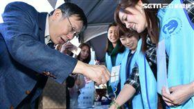 台北市長柯文哲出席移民節活動 北市府提供