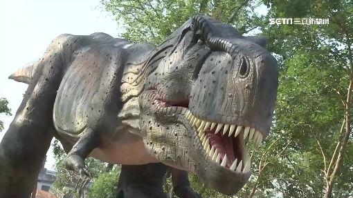 塞爆!恐龍樂園試營運免費 湧入1萬5千人