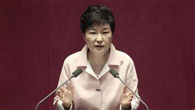 朴槿惠,彈劾,下台,憲法,法院,總統,南韓,免職/達志影像/美聯社