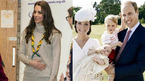 凱特王妃被爆懷第三胎(圖/翻攝自微博)