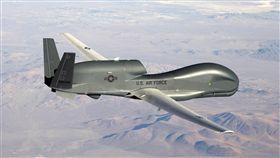 RQ-4,全球之鷹,Global Hawk,無人偵察機(圖/路透社/達志影像)