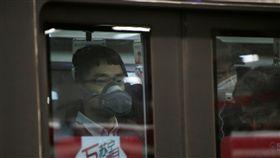 中國大陸,霧霾,空氣汙染,口罩,紅色警戒,北京,PM2.5,霾害/圖/路透社/達志影像