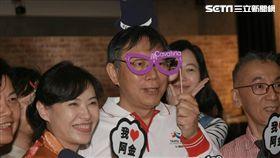台北市長柯文哲出席龍山寺文創地下街開幕 記者林敬旻攝