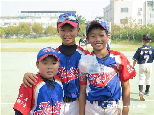 臺北體總棒協社區隊(圖/記者王怡翔攝)