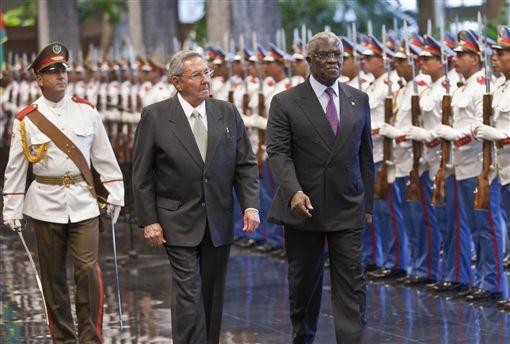 聖多美普林西比總統Manuel Pinto da Costa(圖/路透社)