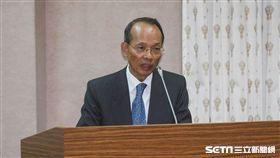 外交部次長侯清山列席國防外交委員會說明聖多美普林西比斷交一事 圖/記者林敬旻攝