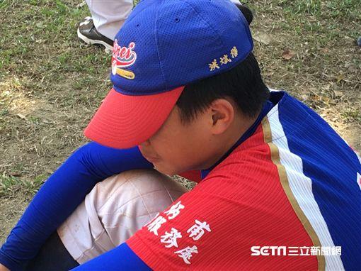 諸羅山盃 台北體總棒協隊 止步32強哭了(圖/陳怡汝攝)