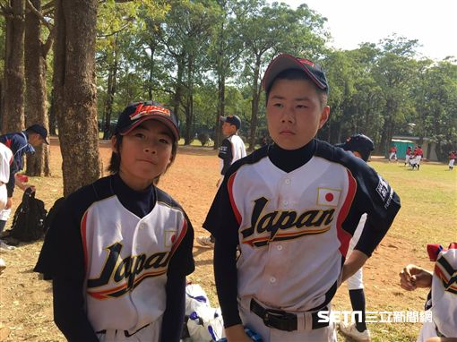 日本福島隊前田陸(右)、坂本吏夢(左)/陳怡汝攝