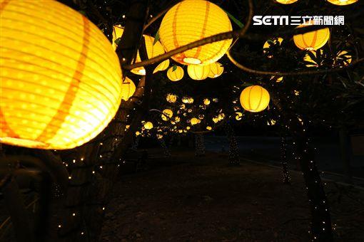 北觀處耶誕、跨年、元旦燈飾。(圖/北觀處提供)