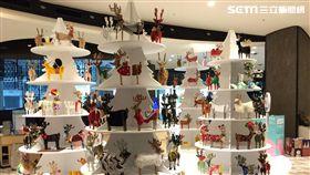 影/耶誕親子遊!誠品有3公尺繪本、 135隻糜鹿出沒