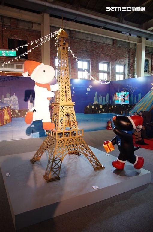 麗莎和卡斯柏我的小巴黎 六大主題感受法式聖誕!