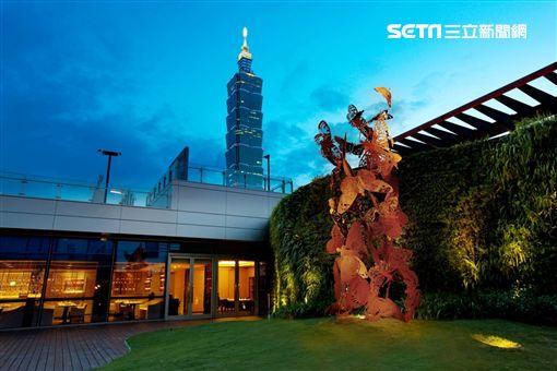 信義區,跨年,派對,飯店,寒舍艾麗酒店,台北101。(圖/寒舍艾麗提供)