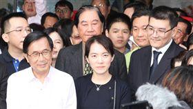 陳水扁,陳幸妤,趙建銘,趙翊安(圖/中央社)