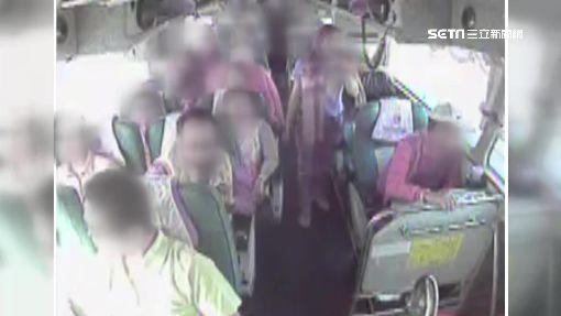 獅子會巴士國道追撞 「獅友」車內慘摔交疊
