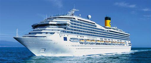 歌詩達新浪漫號遊輪。(圖/翻攝自雄獅旅遊)-http://www.liontravel.com/promotion/cruise/costa/tour.html