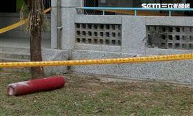 飛彈鋼瓶飛百公尺 撞穿竹山延平國小牆壁_澤哥