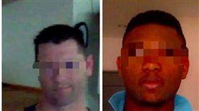 奈及利亞藉嫌犯利用假照片自稱是美國白人John,對女網友愛情詐騙。翻攝照片
