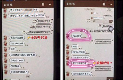 網美,感情,仙人跳,借錢 圖/翻攝自臉書