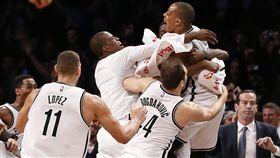 籃網,NBA,絕殺(ap)