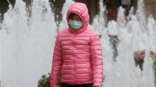 冷、寒冷、冷氣團、冷颼颼示意圖/中央社