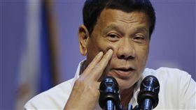 ▲菲律賓總統杜特蒂。(圖/美聯社/達志影像)