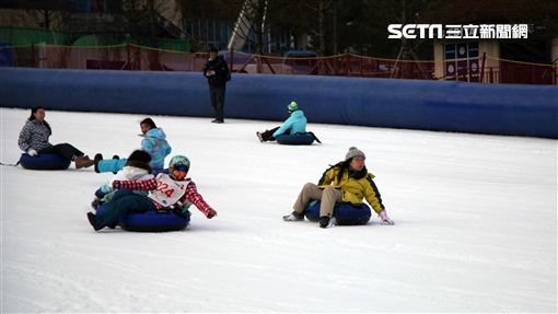 韓國江原道滑雪體驗。(圖/記者簡佑庭攝)