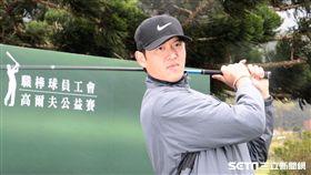 職棒球員工會高爾夫公益賽王建民、胡金龍(圖/記者王怡翔攝)