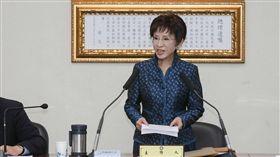 中國國民黨主席洪秀柱主持中常會 圖/記者林敬旻攝