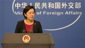 針對北韓試射飛彈,中國大陸外交部發言人華春瑩22日 說,朝鮮半島形勢非常複雜敏感,有關各方都應避免採 取導致局勢緊張升級的舉動,共同維護區域和平穩定。 中央社記者尹俊傑北京攝 105年6月22日