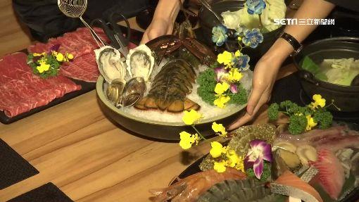 超澎派!龍蝦和牛鍋 尚青海鮮霸氣上桌