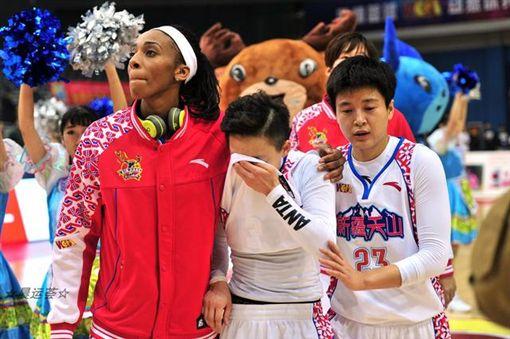 彭詩晴,WCBA,番薯哥,籃球,勝利圖/翻攝自中國籃球協會官網