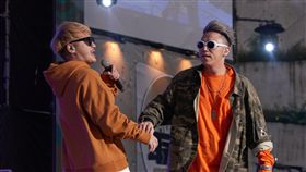 最強音/首上大舞台開唱「笑笑」KID、大飛緊張到皮皮挫 圖/MTV提供
