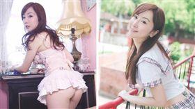 Tiffany Chen,T妹,張楉扉,上床,E奶,女模,屁股蛋,網紅,勾引 (圖/翻攝自Tiffany Chen T妹 粉絲團臉書)