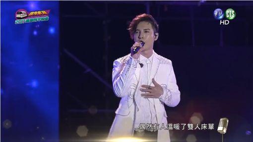 陳勢安、跨年、桃園/翻攝自《華視》