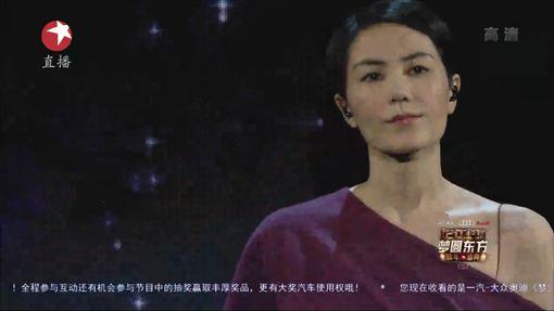 王菲(圖/翻攝自東方衛視)