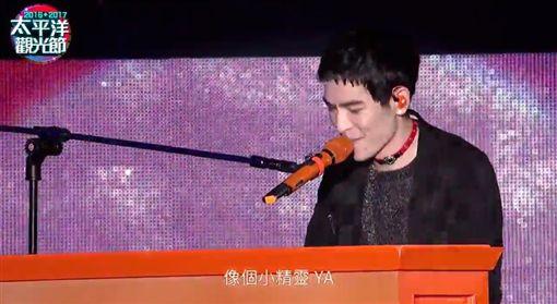 蕭敬騰率獅子合唱團在花蓮跨年開唱
