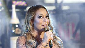 瑪麗亞凱莉(Mariah Carey)紐約跨年 圖/美聯社