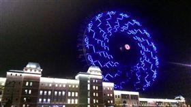 麗寶「摩天輪點燈秀」吸睛 OUTLET額滿再抽百萬奧迪 圖/麗寶樂園提供