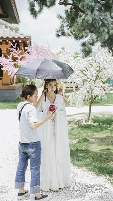 Angelababy,楊穎(圖/翻攝自騰訊娛樂)